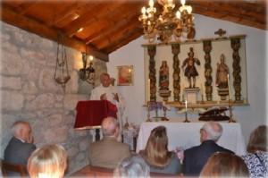 Santa Misa  celebrar por monseñor Fco Javier Frojan